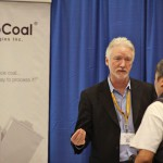 MicroCoal booth at CSE Pavilion at VRIC14