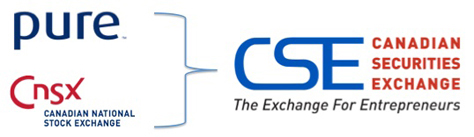 Pure and CNSX are now CSE