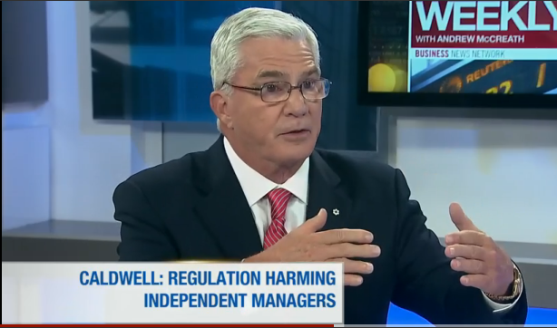 Tom Caldwell discussed regulation on BNN