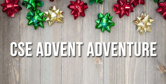 CSE Advent Calendar Adventure