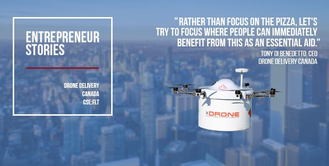 Drone Delivery Canada readies proprietary drone fleet to speed delivery to rural communities
