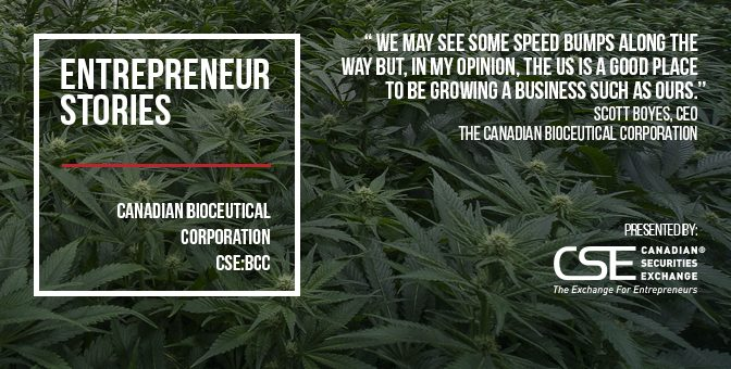 The Canadian Bioceutical Corporation profits from shift to US cannabis market