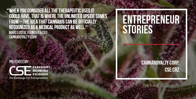 CannaRoyalty charting own course in North America's cannabis marketplace