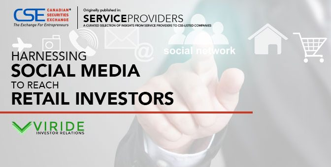 Harnessing Social Media to Reach Retail Investors
