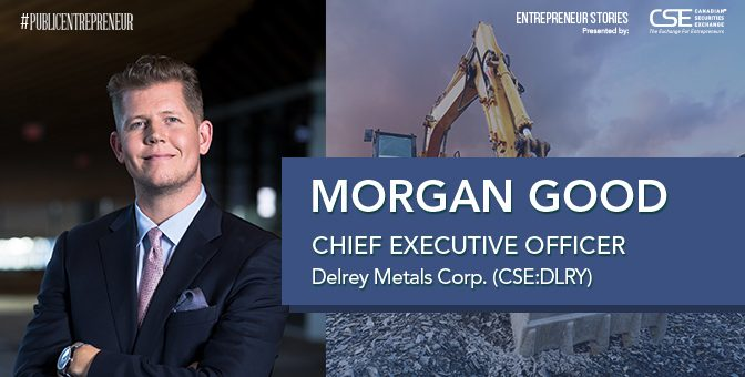 Delrey Metals: CEO Morgan Good is bullish on materials supporting innovation in energy storage, EVs and the steel of tomorrow