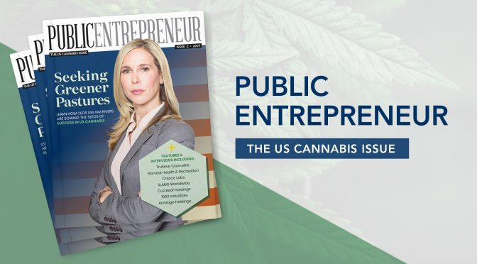 The Public Entrepreneur Magazine – The US Cannabis Issue – Now Live!