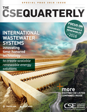 CSE Quarterly PDAC 2016 Special Edition Cover