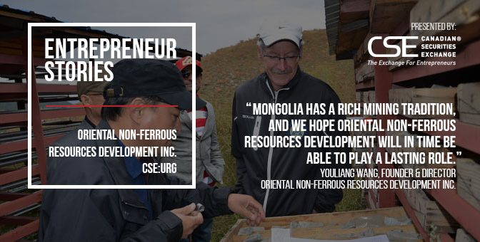 Oriental Non-Ferrous Resources Development sees Mongolia as cornerstone of Asian mining strategy