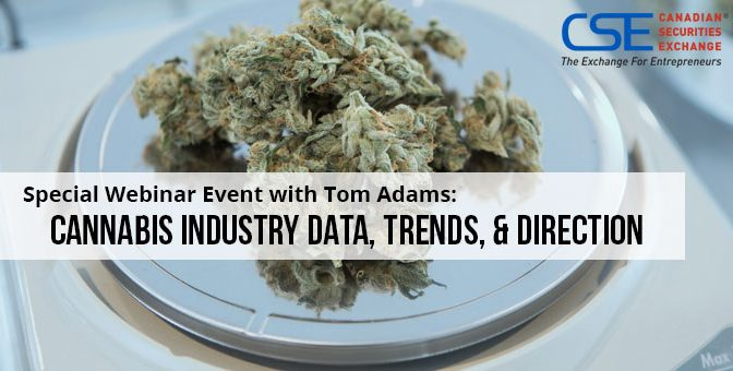 Webinar: Trends & Directions in the Cannabis Industry