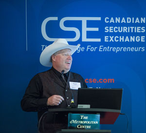Richard Carleton, CEO of the CSE