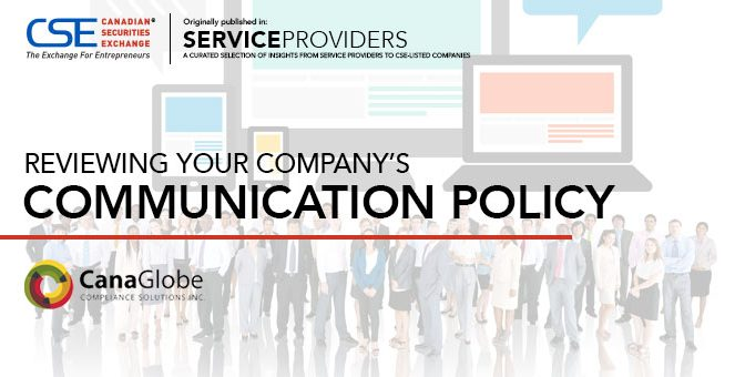 Reviewing Your Company's Communication Policy