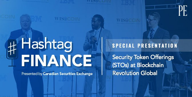 Special Presentation: Security Token Offerings (STOs) at Blockchain Revolution Global