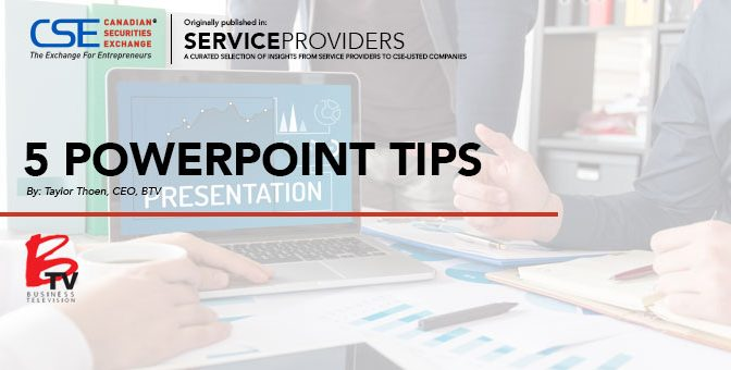5 PowerPoint Tips