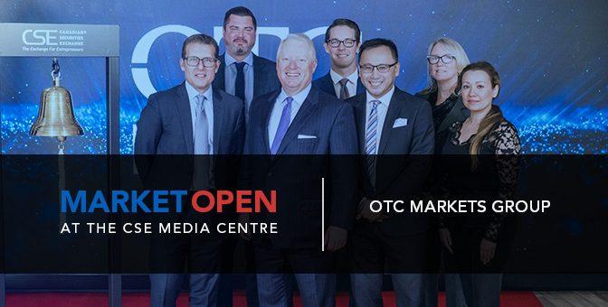 OTC Markets Group Opens the Market at the CSE Media Centre