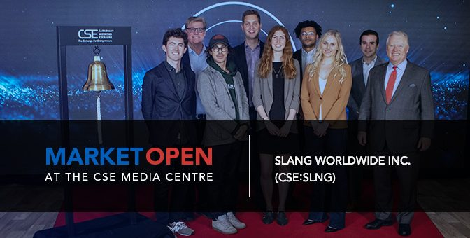 SLANG Worldwide Opens the Market at the CSE Media Centre