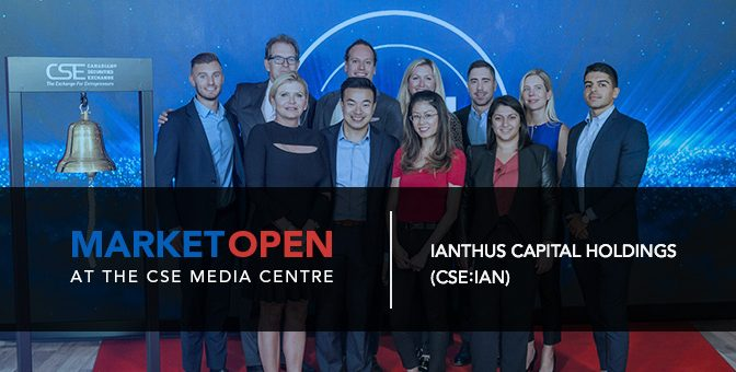 iAnthus Capital Holdings Opens the Market at the CSE Media Centre