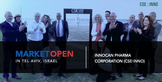 InnoCan Pharma Corporation Opens the Market