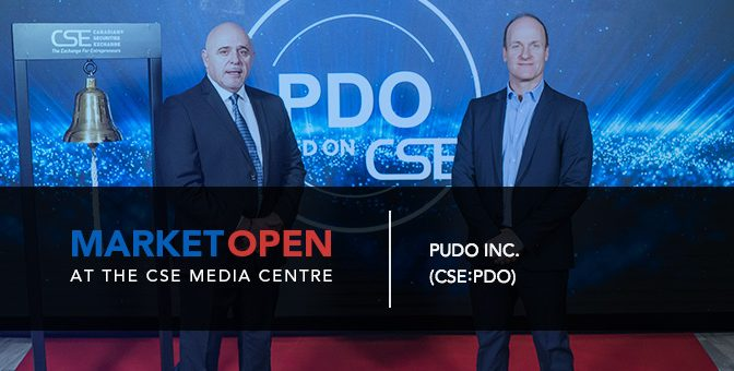 PUDO Inc. Opens the Market at the CSE Media Centre