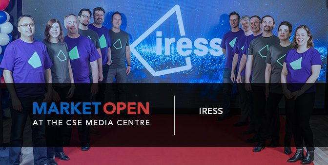 Iress Opens the Market at the CSE Media Centre