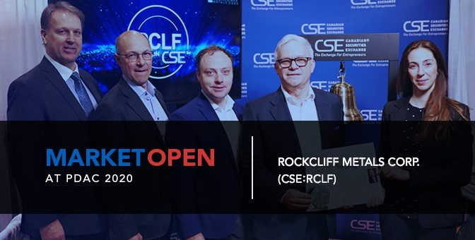 Rockcliff Metals Corp. Opens the Market at PDAC 2020