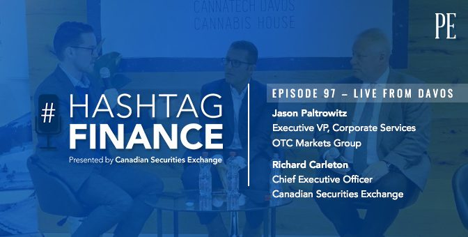 Live From Davos: Jason Paltrowitz & Richard Carleton on Cannabis in Public Markets
