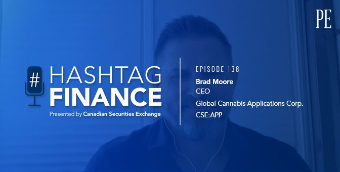 Brad Moore on Leveraging Blockchain to Improve Outcomes for Medical Cannabis Patients | #HashtagFinance