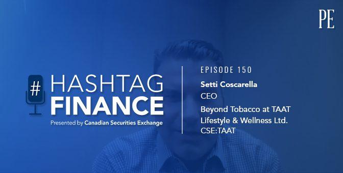 Setti Coscarella on the Better Way to Smoke | #HashtagFinance