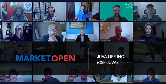 Juva Life Inc. Joins the CSE for a Virtual Market Open