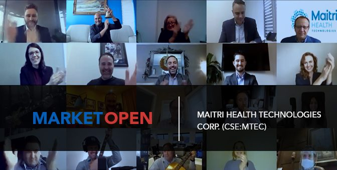 Maitri Health Technologies Corp. Joins the CSE for a Virtual Market Open
