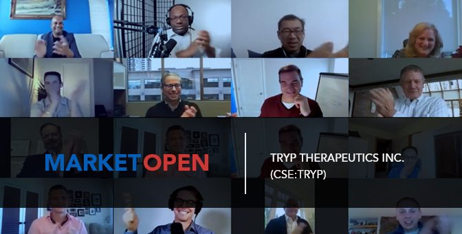Tryp Therapeutics Inc. Joins the CSE for a Virtual Market Open