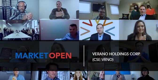 Verano Holdings Corp. Joins the CSE for a Virtual Market Open