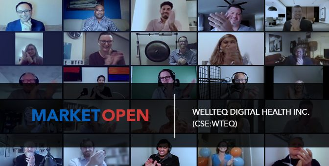 WellteQ Digital Health Inc. Joins the CSE for a Market Open