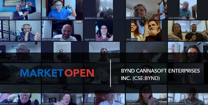 BYND Cannasoft Enterprises Inc. Joins the CSE for a Virtual Market Open