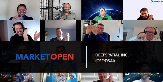 DeepSpatial Inc. Joins the CSE for a Virtual Market Open