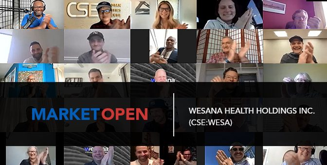 Wesana Health Holdings Inc. Joins the CSE for a Virtual Market Open