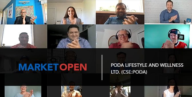 Poda Lifestyle and Wellness Ltd. Joins the CSE for a Virtual Market Open