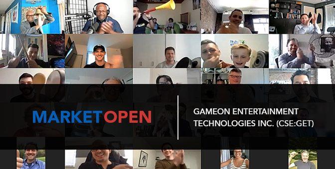 GameOn Entertainment Technologies Inc. (CSE:GET) Joins the CSE for a Virtual Market Open