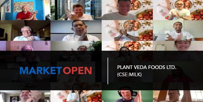 Plant Veda Foods Ltd. (CSE:MILK) Joins the CSE for a Virtual Market Open