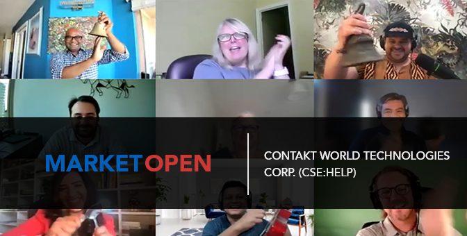 Contakt World Technologies Corp. (CSE:HELP) Joins the CSE for a Virtual Market Open