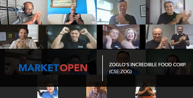 Zoglo's Incredible Food Corp. (CSE:ZOG) Joins the CSE for a Virtual Market Open