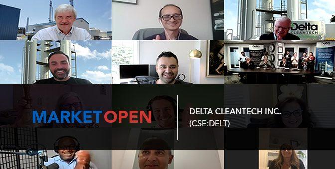 Delta CleanTech Inc. (CSE:DELT) Joins the CSE for a Virtual Market Open