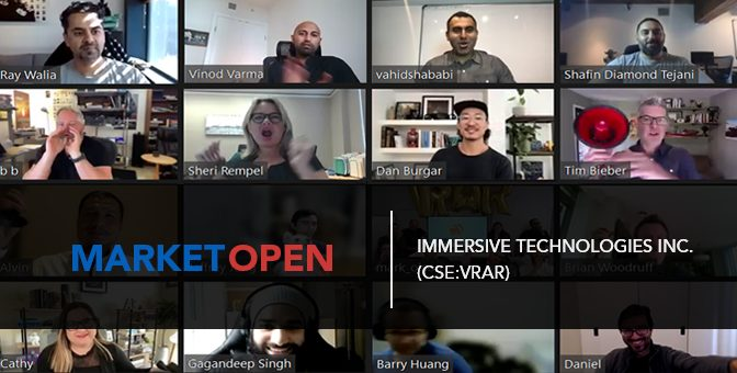 Fantasy 360 Technologies Inc. (CSE:VRAR) Joins the CSE for a Virtual Market Open