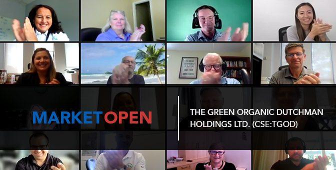 The Green Organic Dutchman Holdings Ltd. (CSE:TGOD) Joins the CSE for a Virtual Market Open